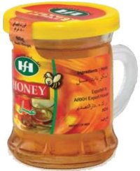 Honey In Glass Mug