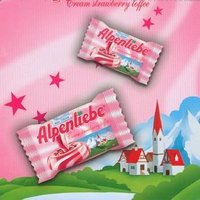 STRAWBERRY ALPENLIEBE TOFFEE