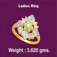 Diamond Studded Ladies Rings
