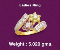 Studded Ladies Diamond Rings