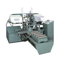 Automatic Double Column Horizontal Metal Cutting Bandsaw Machine