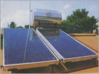 SOLAR WATER HEATER FOR SLANT ROOF