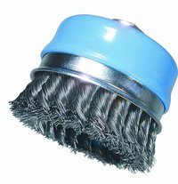 Knotted Wire Cup Brush