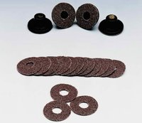 Abrasive Cloth Disc Wafer & Rubber Pad