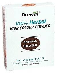 Herbal Hair Colour Powder (Natural Brown)