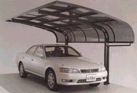 Polycarbonate Car Sheds
