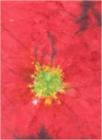 Red Tie Dye Paper