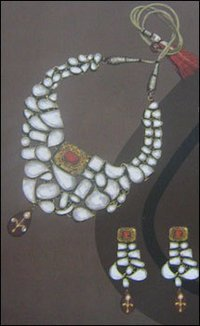 DESIGNER KUNDAN NECKLACE SET