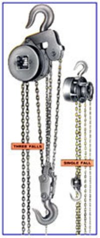 Heavy Duty Chain Pulley Blocks
