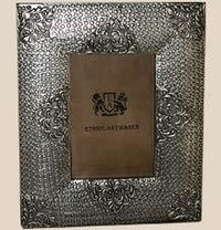 Crafted Silver Picture Frame