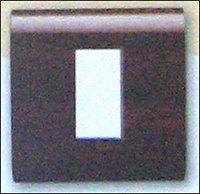 TEAK MODULAR SWITCH WITH PLATE