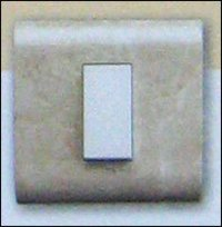 MARBLE MODULAR SWITCH WITH PLATE