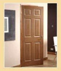 Six Panel Flush Door