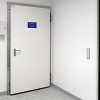 Fire Safe Hinged Door