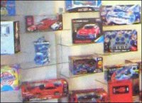 TOY SHOWROOMS DISPLAY RACK