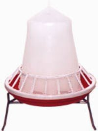 Manual Chick Feeder With Grill