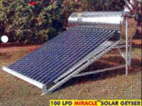 MIRACLE SOLAR GEYSER