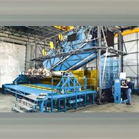 Rock N Roll Type Roto Moulding Machine