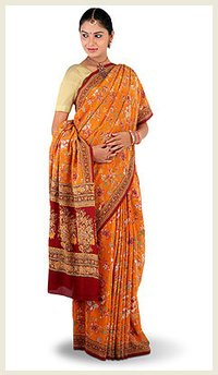 Pure Crepe Printed Saree