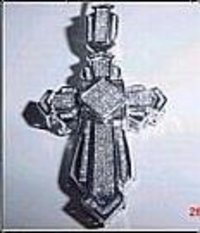 DIAMOND HOLY CROSS PENDANT
