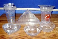 VACUUM FORMING DISPOSABLE CONTAINER