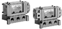 Base Mounted Metal Seal 4/5 Port Solenoid Valve