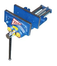 Lion Brand Wood Working Vice Plain And Quick Action