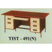 Wooden Table With Drawer (Tist-491(N))