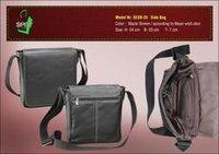 Black Leather Side Bags