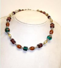 Glass Beads Elegant Necklace