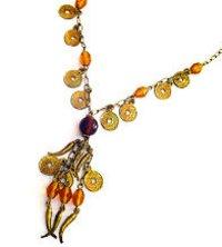 Beaded Chandelier Necklaces