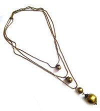 Brass Beads Necklaces