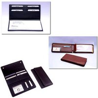 Leather Checkbook Holder