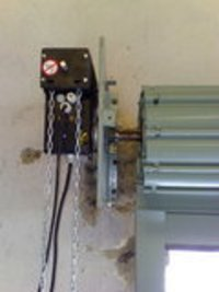 Rolling Shutter With Motor