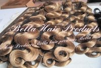 Body Wave Chinese or Indian Human Hair Weft