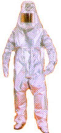 Aluminised Glass Fibre Suit