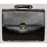 Leather Office Portfolio Bag