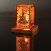 Buddha Tea Lite Holder