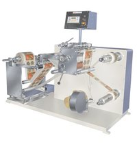 High Speed Label Slitting And Rewinding Machine