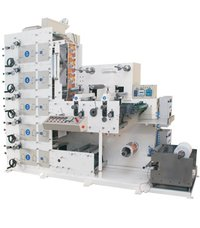 F-320/5 Colour Auto Flexo Sticker Label Printing Machine