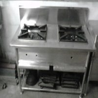 Double Burner Cooking Platform