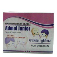 Admol Junior Dispersible Paracetamol Tablets B.P