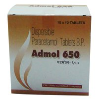 Admol 650 Dispersible Paracetamol Tablets B.P