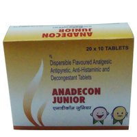 Anadecon Junior Dispersible Paracetamol, Chlorpheniramine Maleate, Phenylephrine Hcl