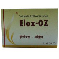 Elox Oz Ofloxacin And Ornidazole Tablets