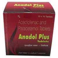 Anadol Plus Aceclofenac And Paracetamol Tablets
