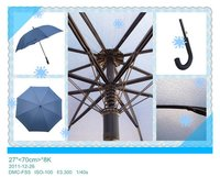 Promotional Golf Curve Umbrella
