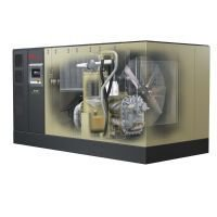 190-225kw / 250-300hp 2stg Vsd Rotary Contact-Cooled Air Compressor