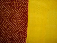 Red And Yellow Fabrics