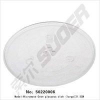 Microwave Oven Glassess Dish (Large)